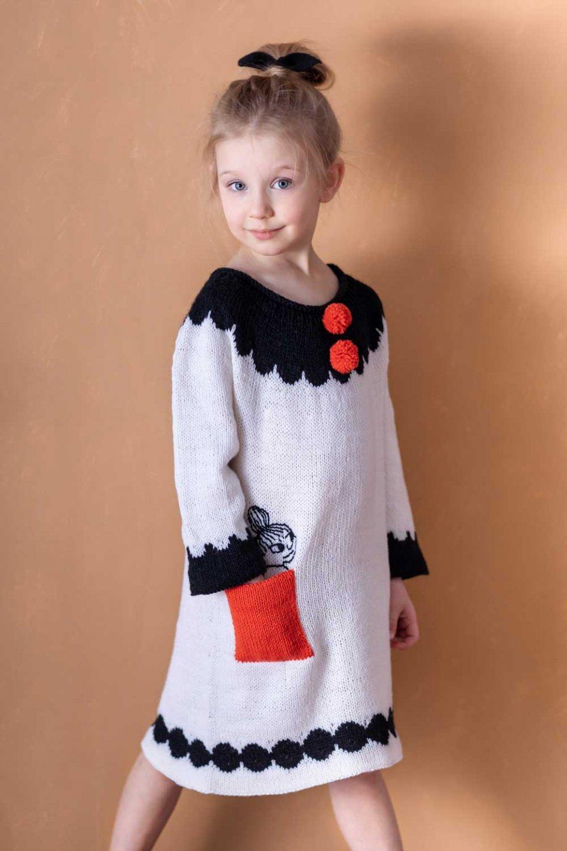 Moomin-x-Novita-Wool-Dress-Cute