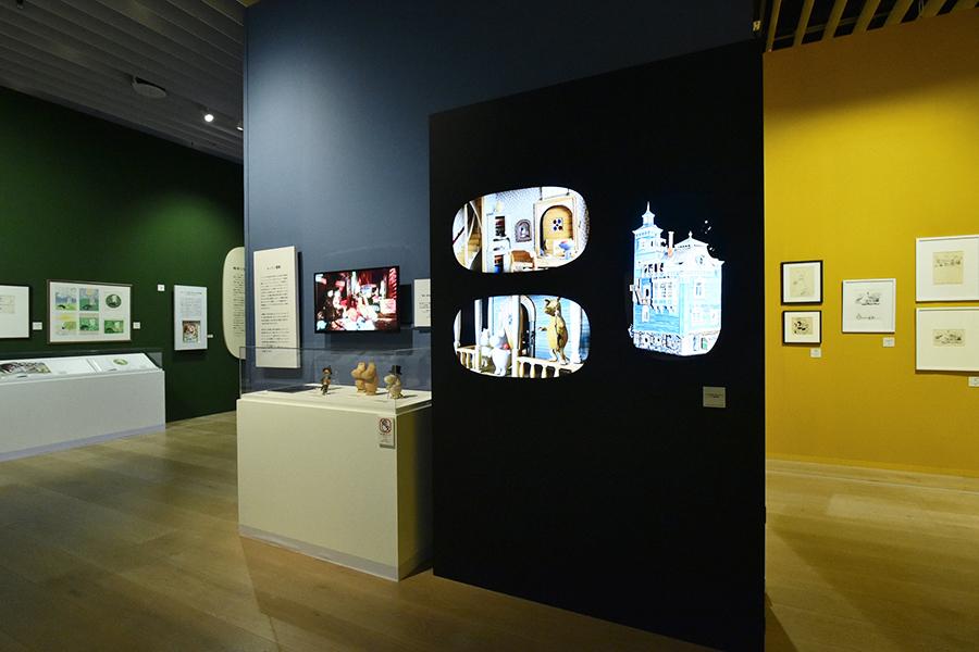 Moomin exhibition Mori
