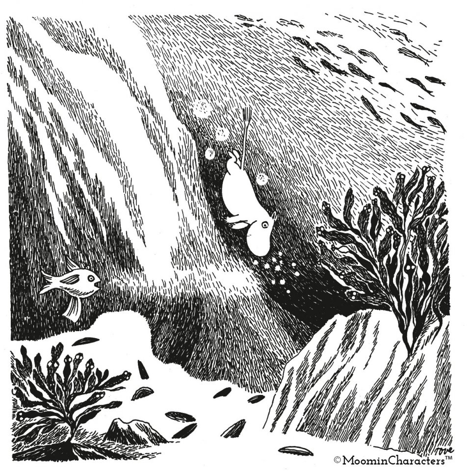 Spring Tove Jansson Moomin