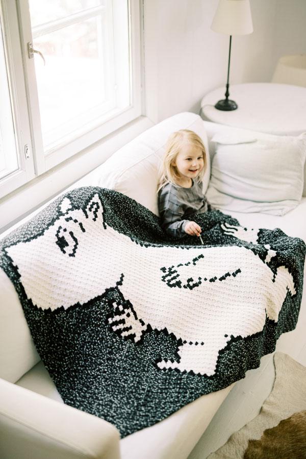 Moomin Novita blanket
