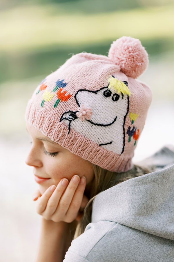 Moomin hat cap by Novita