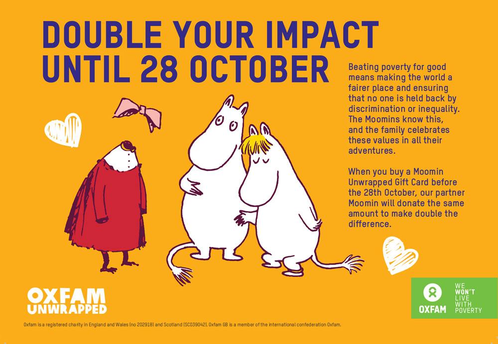 Moomin and Oxfam