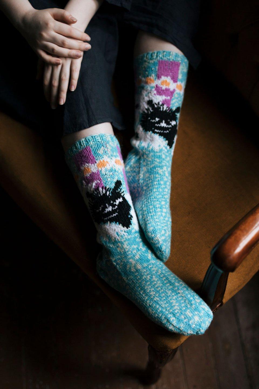 Moomin_Novita_OURSEA_garn_socks_stinky_Majakkasaari