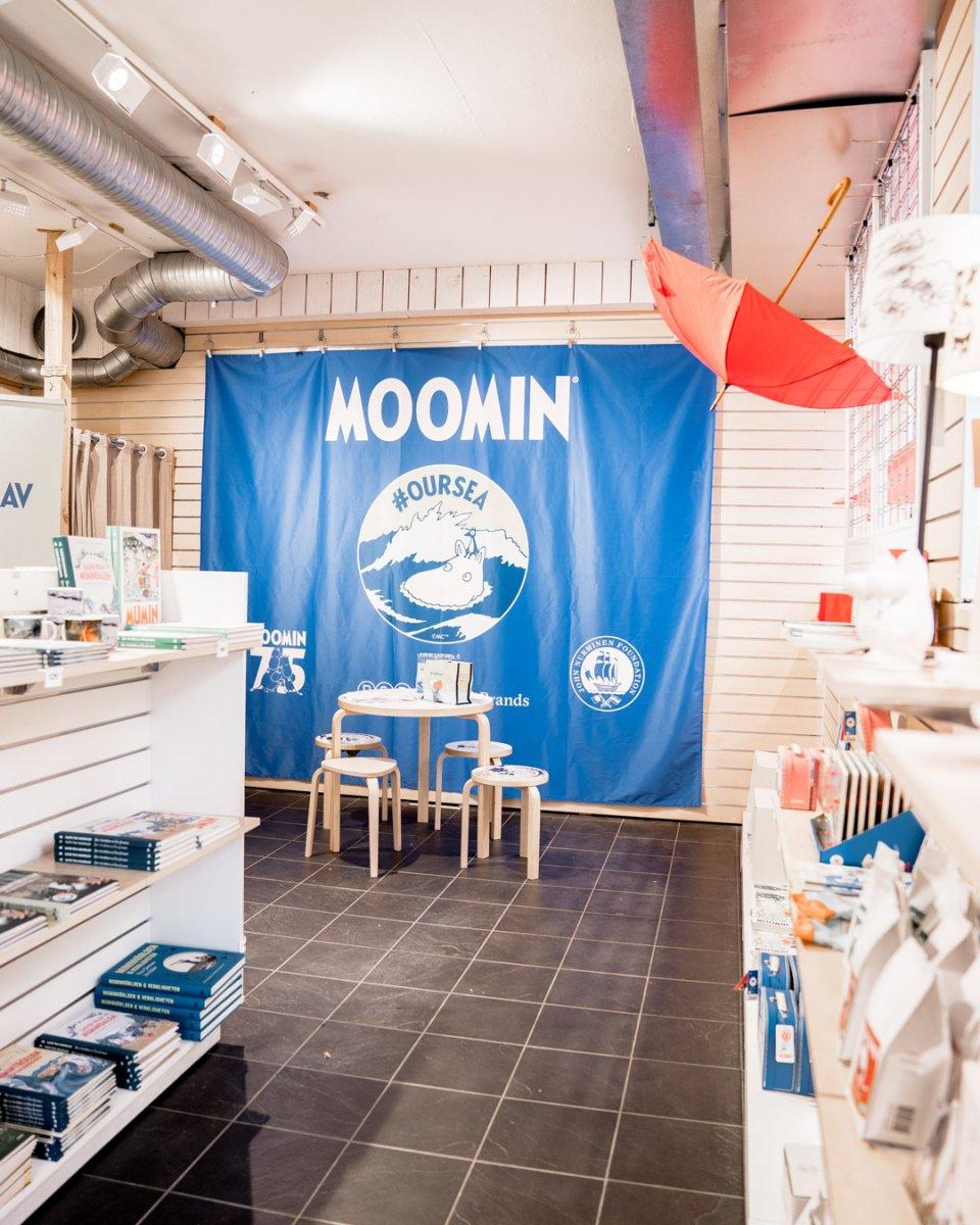 Mumin i city Borås