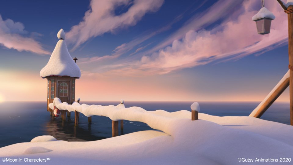 Moominvalley_Background_Snow_Dock
