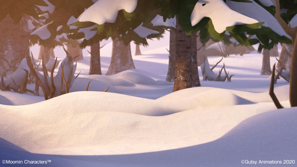 Moominvalley_Background_Snow_Woods