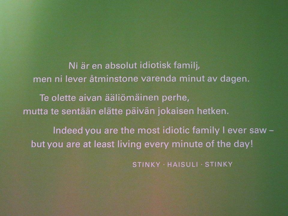 Muumit 75 kansallismuseo sitaatti