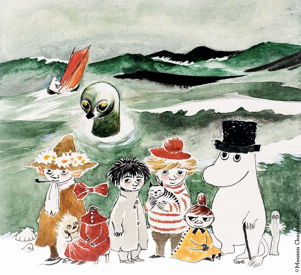 Tove-Jansson-Moomin-and-the-sea