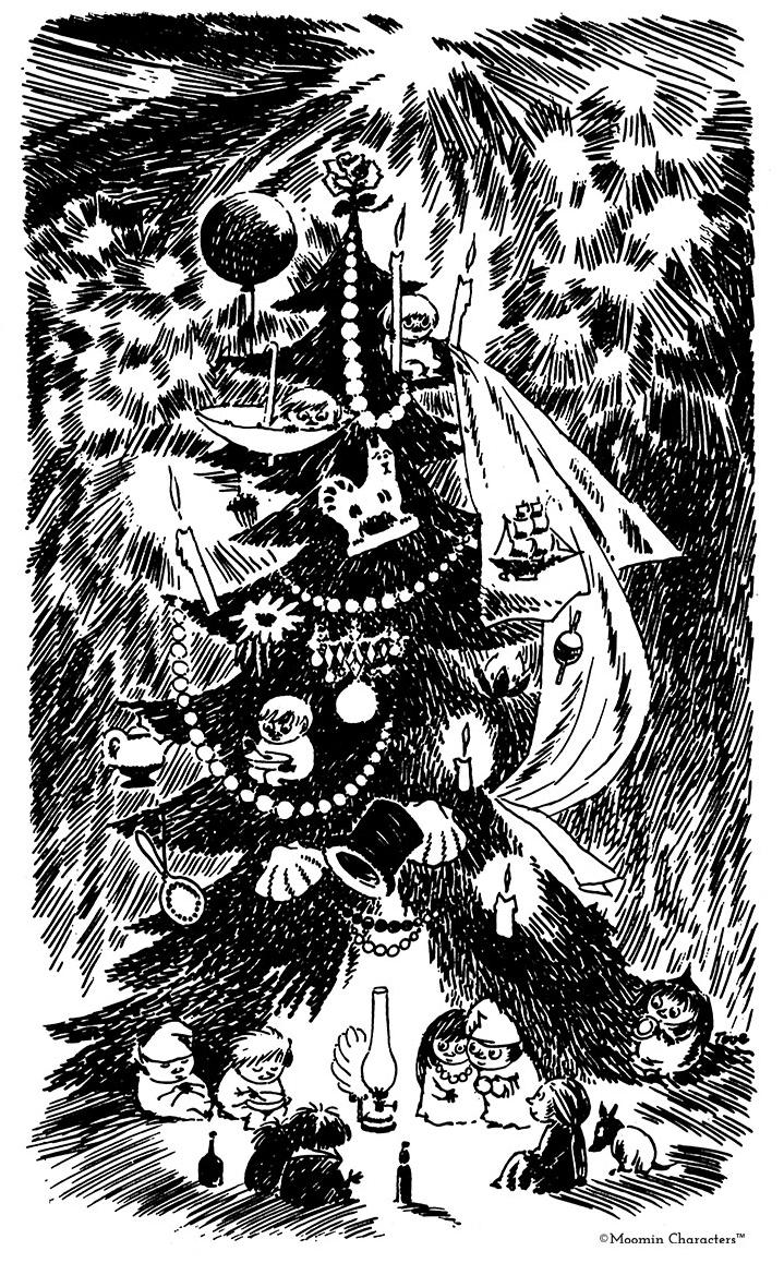 Fir-Tree-Moomin-Tove-Jansson-newsletter