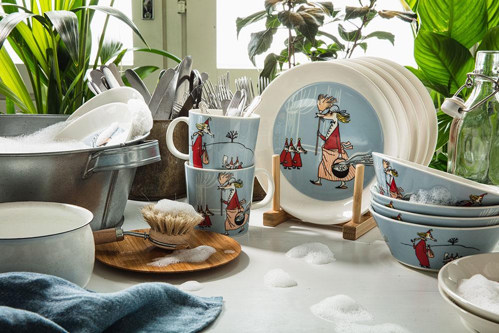 New Moomin mugs by Arabia