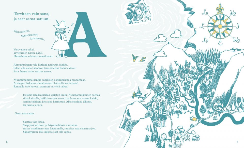 moomin abc book