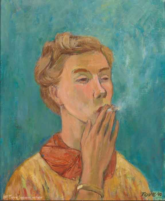 Tove-Jansson-Self-Portrait