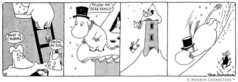 moomin winter products