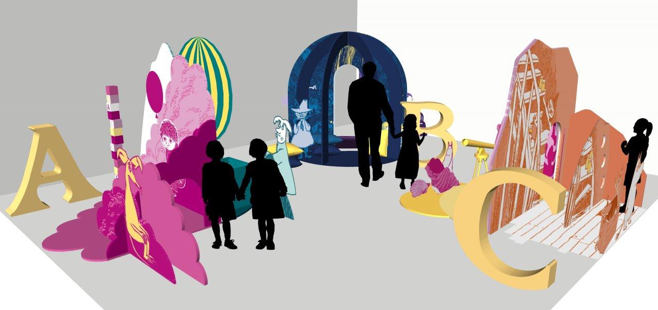 #MoominABC Exhibition