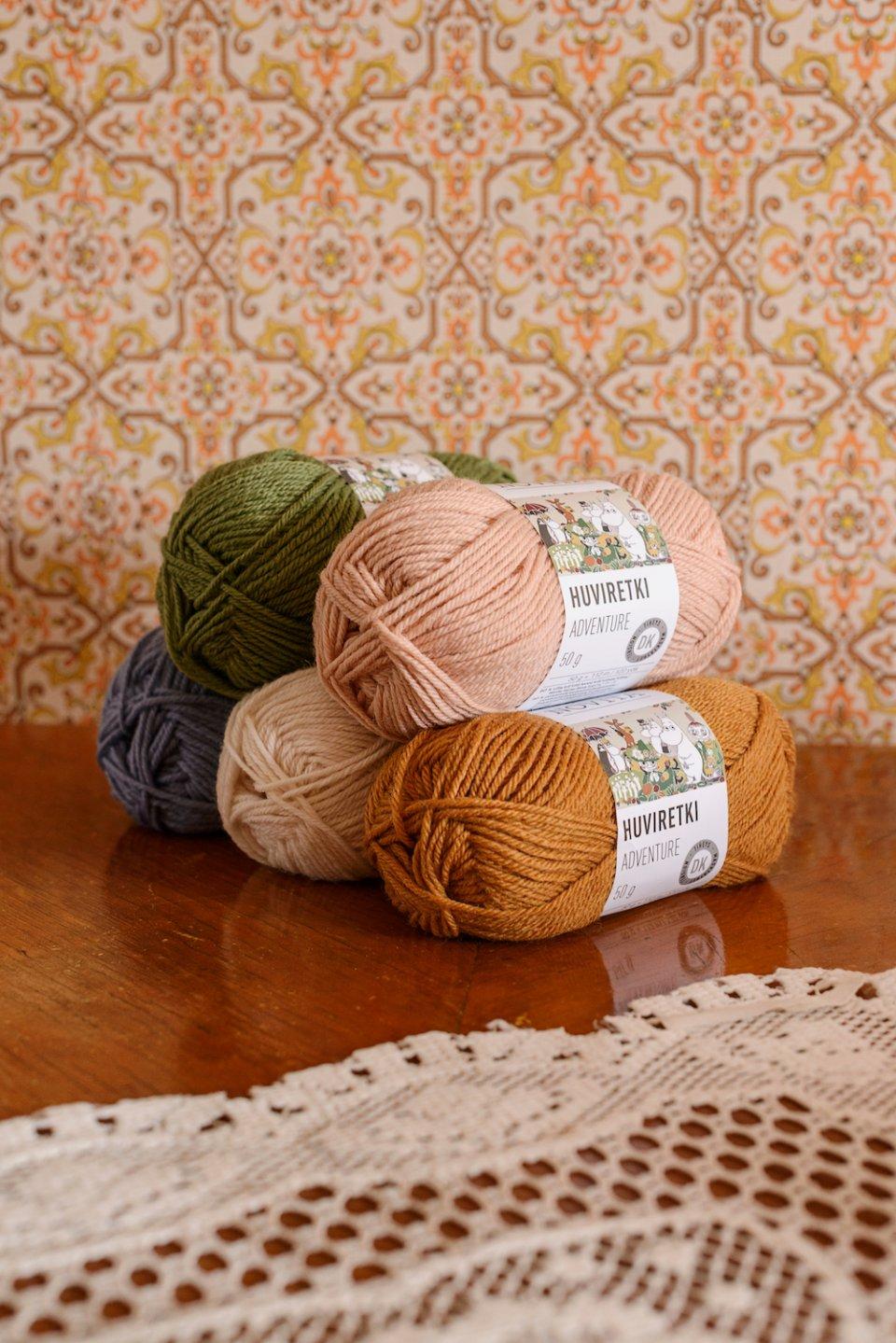 moomin novita yarn